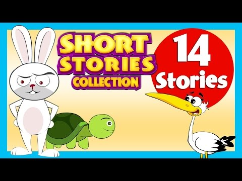 SHORT STORY for CHILDREN (14 Moral Stories) | Tortoise and Rabbit Story  & more
