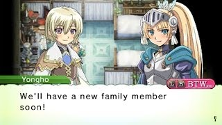 Rune Factory 4-Forte Pregnancy and Birth