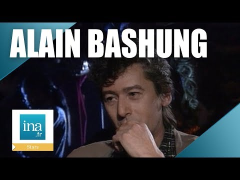 Alain Bashung, l'interview 1ère fois- Archive INA