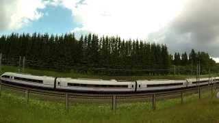 [RZD] Railway strech with the highest permited speed in Russia