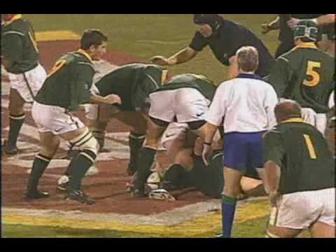 Tribute to a South Africa Rugby Legend