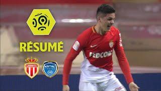 AS Monaco - ESTAC Troyes (3-2)  - Résumé - (ASM - ESTAC) / 2017-18