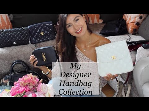 My Updated Designer Handbag Collection! CHANEL, Saint Laurent, Chloé and more!