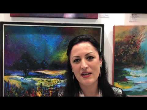 Rare Mandi Art gallery artist interview at World Art Dubai-2017