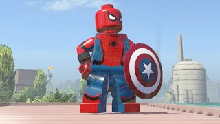 LEGO Marvel Super Heroes - Captain America Civil War Spider-Man (MOD)