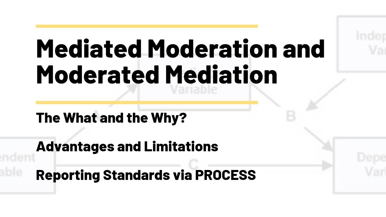 Moderated Mediation