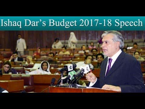 Ishaq Dar Budget 2017-18 Speech - Full - Neo News