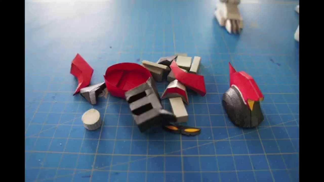 Papercraft TYRANNOSAURUS PAPERCRAFT - POWER RANGERS (MEGAZORD)