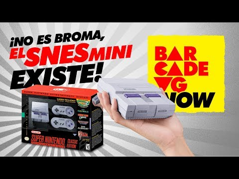 ¡El SNES MINI existe! - BarcadeVG NOW