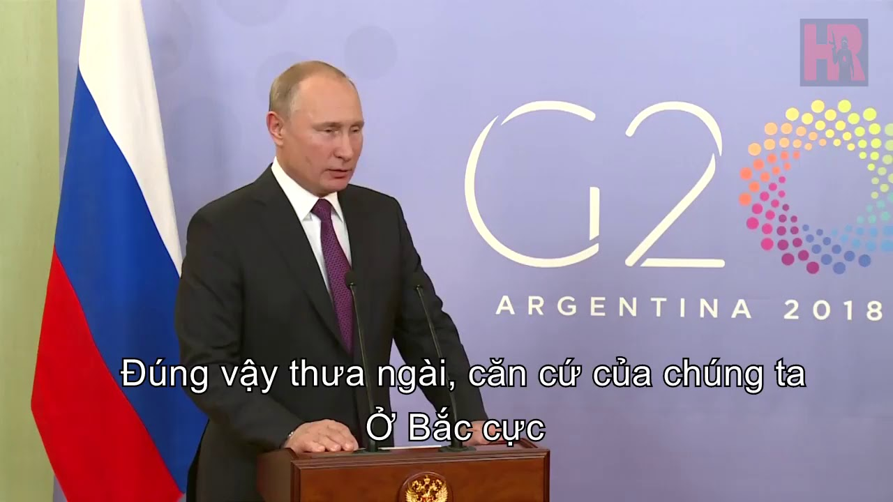 Tổng thống Nga Putin đánh giá phim Hunter Killer (Putin review Hunter Killer film)