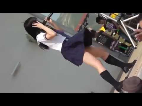 【HD】 Cute Japanese Students Dance - Sexy legs