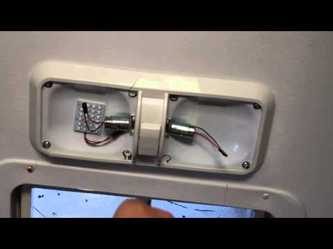Rv Led Lighting Upgrade 1992 Holiday Rambler Imperial