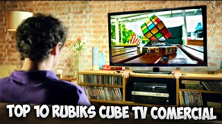Top 10 Rubiks Cube TV Comercial
