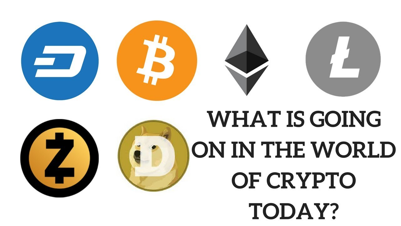 what is going on with cryptocurrency today