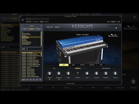 Spectrasonics Keyscape - The Sounds