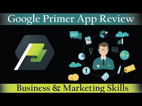 Google Primer App Review   Business and Marketing Skill   Digital Marketing