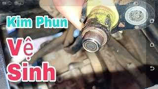 NGHỊCH NGU Vệ sinh kim phun xăng điện tử Xe máy Exciter 150 tại nhà