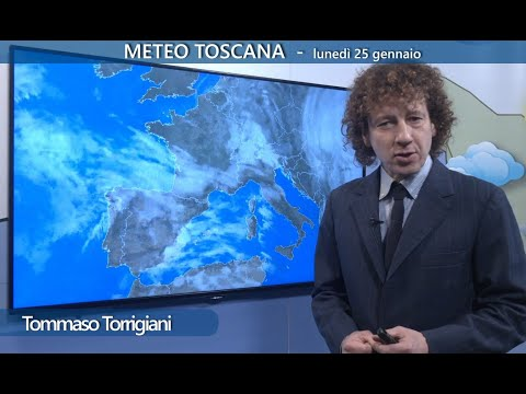 Il meteo di oggi in Toscana - migliora dal pomeriggio; attenzione al ghiaccio stanotte e domani!