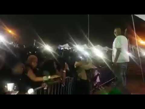 Mampintsha response to babes wodumo during live performance