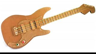 How to Make an Electric Guitar from Cardboard