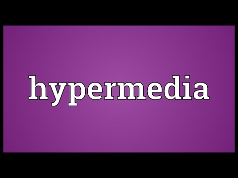 Hypermedia Meaning