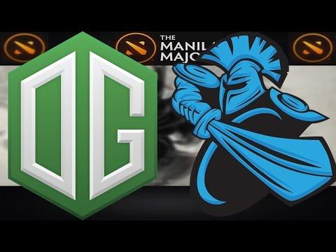 OG VS Newbee #1 | Manila Major 2016 Group Stage | Dota 2 Full Game & Highlights