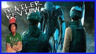 Attraction 2018 (Притяжение, Prityazhenie ) Sci-Fi Trailer review - Great Movie HORRIBLE DUBBING!!