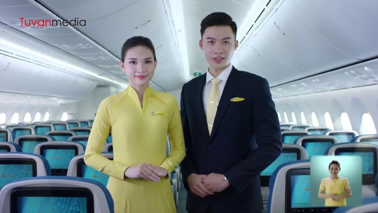 Vietnam Airlines Safety – Hướng dẫn An toàn bay VNA do Tứ Vân san xuat – Sản xuất phim quảng cáo