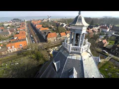  WOUW! Luchtopnames Willemstad Drone (UltraHD 4K)