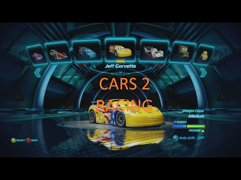 Cars 2 The Video Game: Racing Cars In Battle!  (1 Hour) ***Not The Series*** (No Talking)