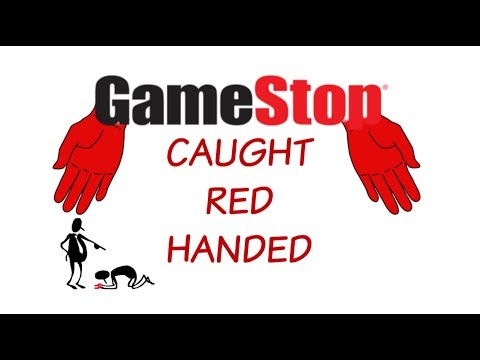 GameStop Caught Red Handed
