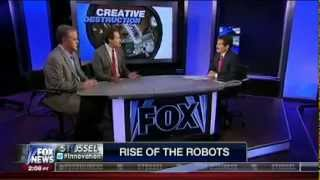Universal Basic Income gets mentioned to John Stossel on Fox News