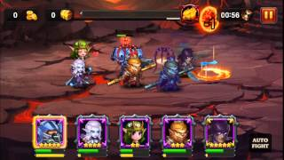 Heroes Charge LV 84 how to kill Burning Phoenix Difficulty 3