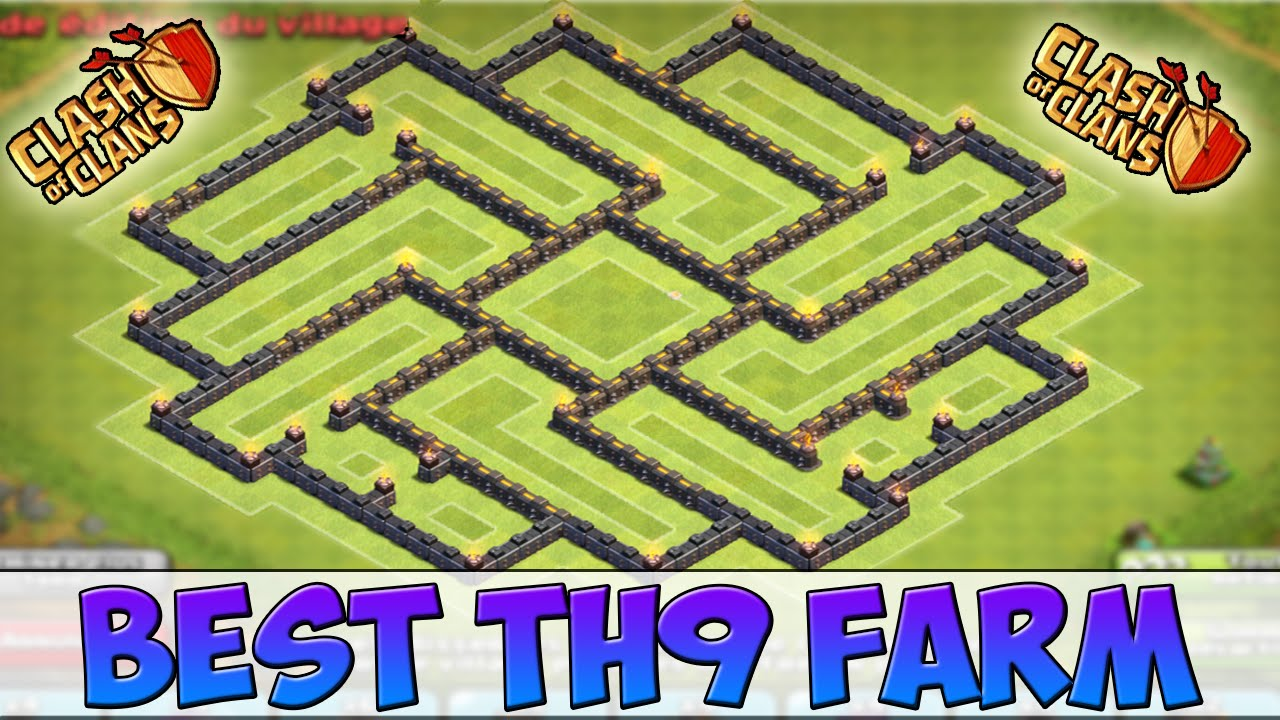 [Speed Building]TOP BASE HDV 9 FARMING I Excellent