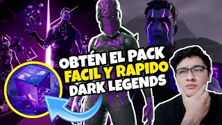 "How to Get The *NEW* ""Dark Legends"" Pack Fortnite Battle Royale Season 10"