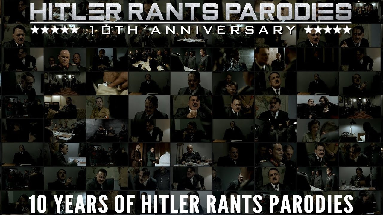 10 Years of Hitler Rants Parodies