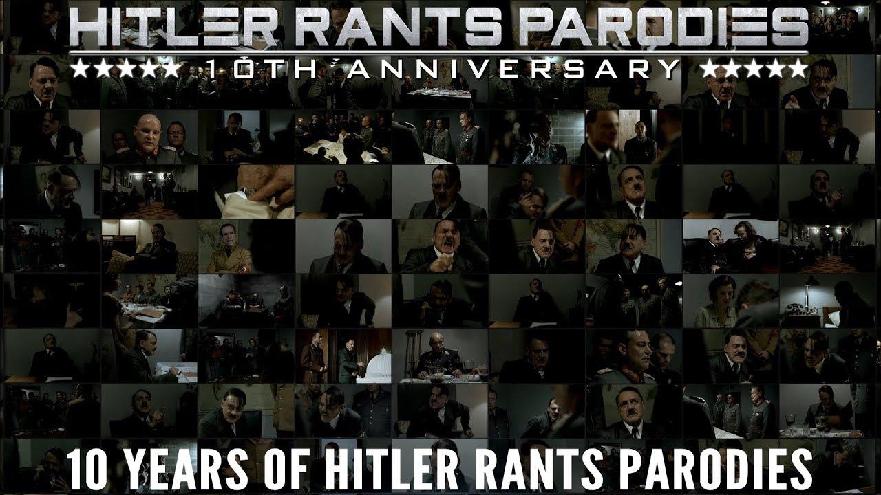 10 Years of Hitler Rants Parodies