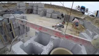 Buduję dom. murowanie komina 3