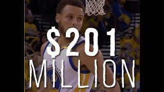 Here's Why Steph Curry Doesn't Deserve $201 Mil
