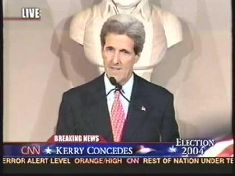 Election Night 2004 - John Kerry