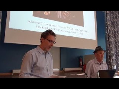 SITE conference Economics of Inequality: Richard B. Freeman, Harvard University