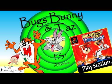 BUGS BUNNY & TAZ: TIME BUSTERS, PS1: i don't have a nose review