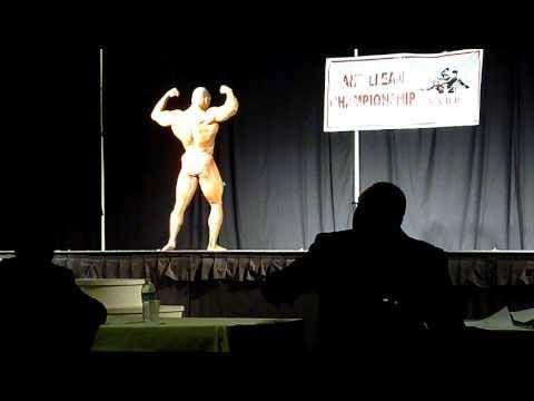 Angelo Engelhart @ Netherlands Antilles Bodybuilding Championship 2010