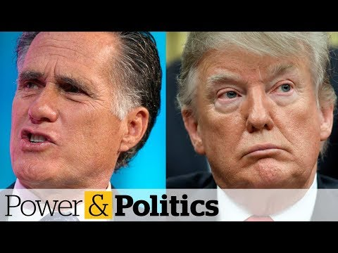 Trump reacts to Romney's scathing op-ed criticisms