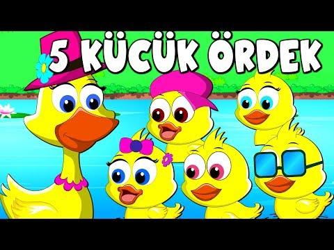 Beş küçük ördek | 5 ördek şarkısı | Ceviz Adam | Patates Adam + 26 Dakika Çocuk Şarkıları