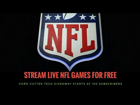 (Cord Cutters) How To Watch NFL Games For Free