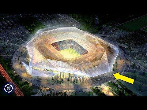8 Increíbles Estadios del Mundial QATAR 2022 || Construcciones Asombrosas