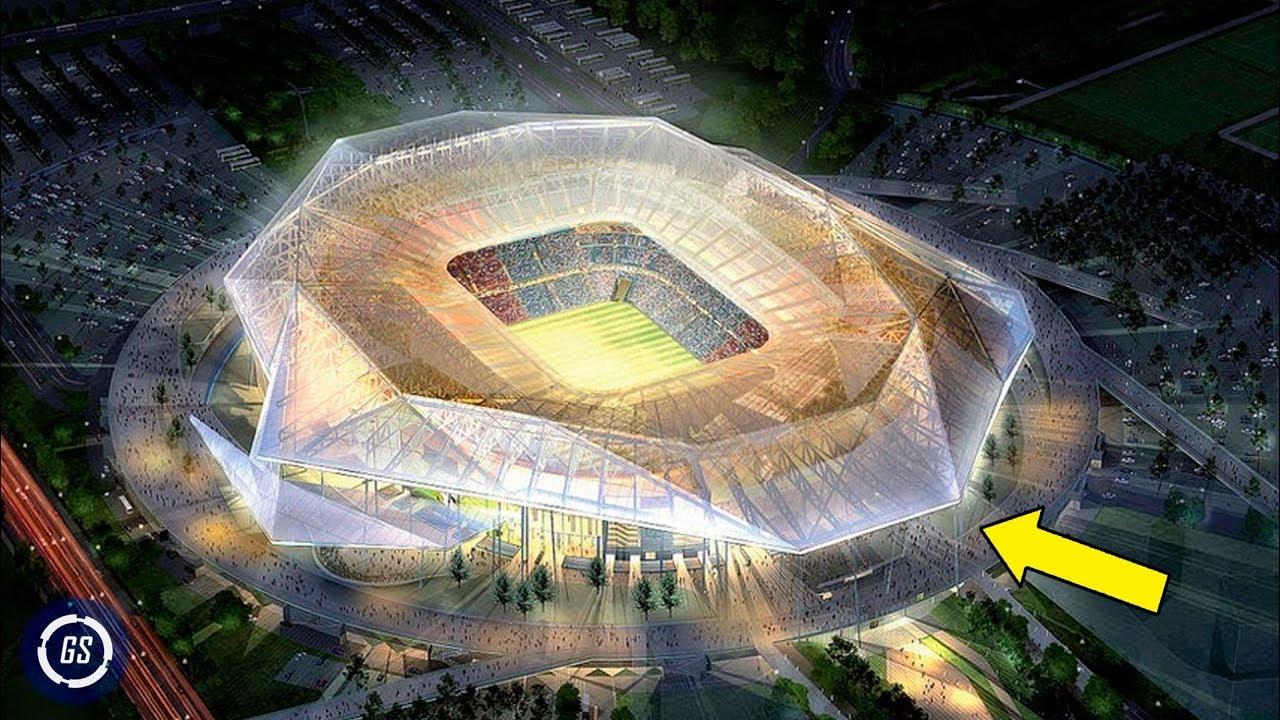 8 Increíbles Estadios del Mundial QATAR 2022 || Construcciones Asombrosas - YouTube