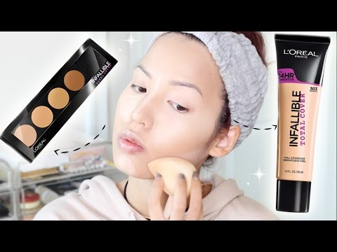 l oreal infallible total cover palette how to use