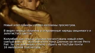 Новый клип Шакиры собрал миллионы просмотров